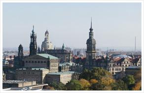 Гигапиксельная панорама Дрездена